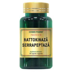 Nattokinaza Serrapeptaza, Cosmo Pharm, 30 Capsule