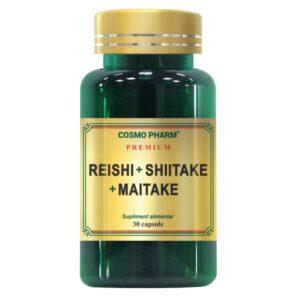 Reishi Shiitake Maitake, Cosmo Pharm, 30 capsule