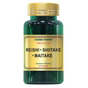 Reishi Shiitake Maitake, Cosmo Pharm, 60 capsule