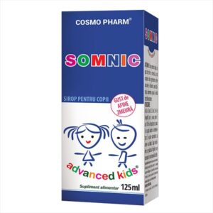 Somnic Sirop, Cosmo Pharm, 125 ml