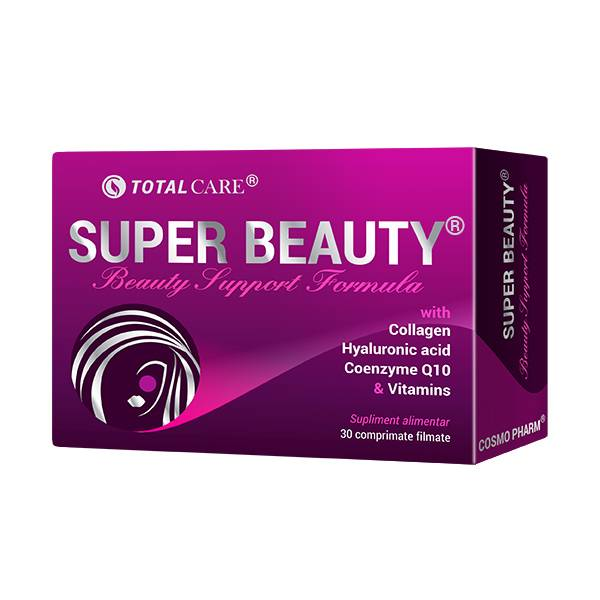 Super Beauty – Beauty Support Formula, Cosmo Pharm, 30 comprimate filmate