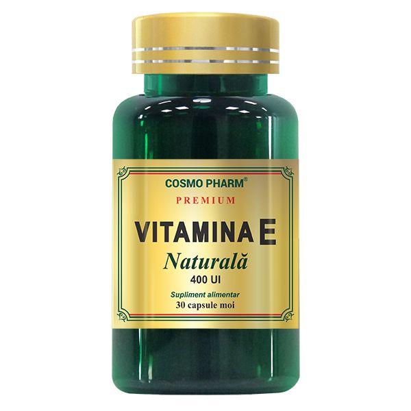 Vitamina E Naturala, Cosmo Pharm, 30 capsule moi