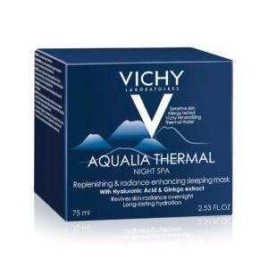 Gel-crema hidratant de noapte cu efect anti-oboseala Aqualia Thermal S...