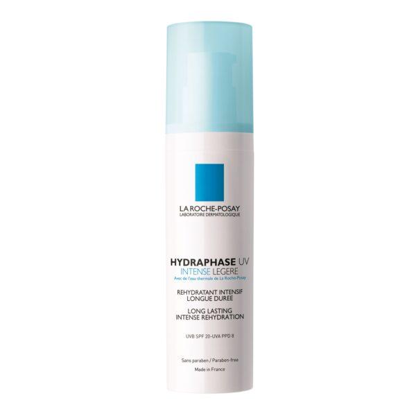 Crema pentru ten deshidratat Hydraphase UV Intense Legere SPF 20, La Roche-Posay, 50 ml