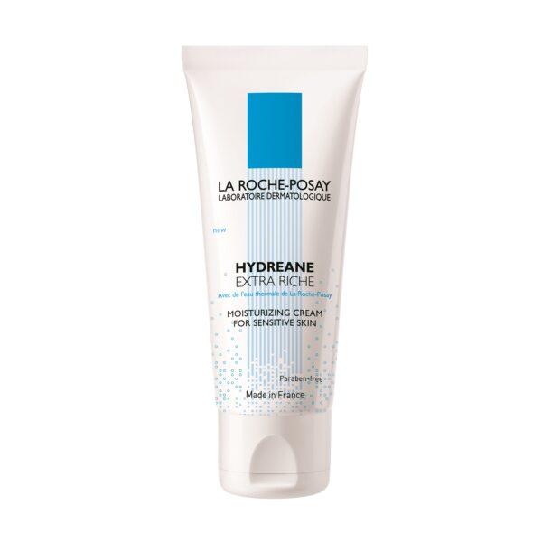 Crema hidratanta pentru ten foarte uscat Hydreane Extra Riche, La Roche-Posay, 40 ml