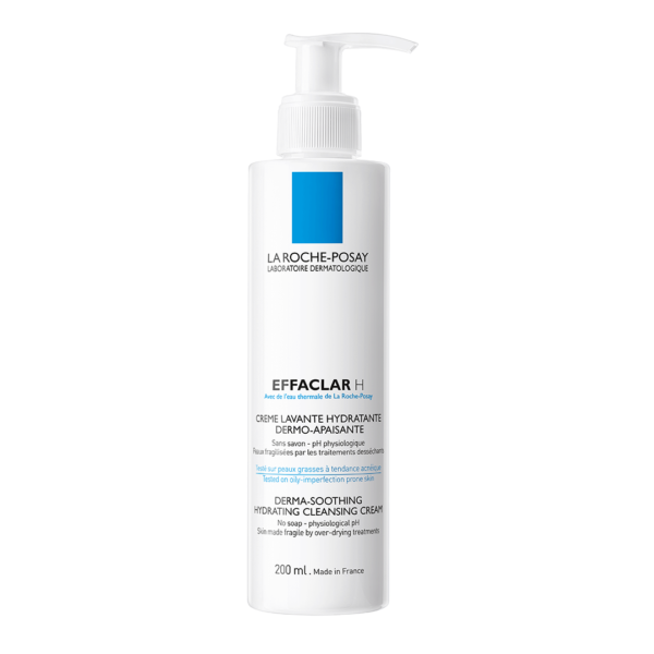 Crema de curatare hidratanta si calmanta Effaclar H, La Roche-Posay, 200ml