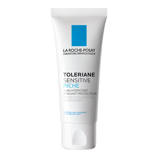 Crema hidratanta prebiotica pentru ten sensibil si uscat Toleriane Sensitive Riche, La Roche-Posay, 40 ml