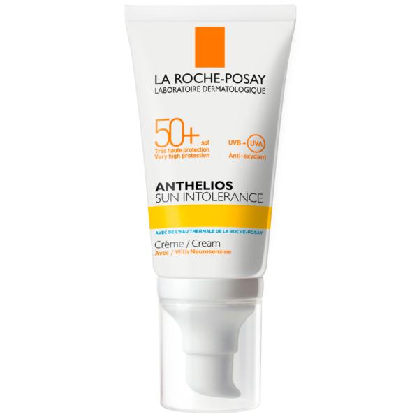 Crema de protectie solara pentru piele intoleranta la soare SPF 50+, Anthelios, La Roche-Posay, 50 ml