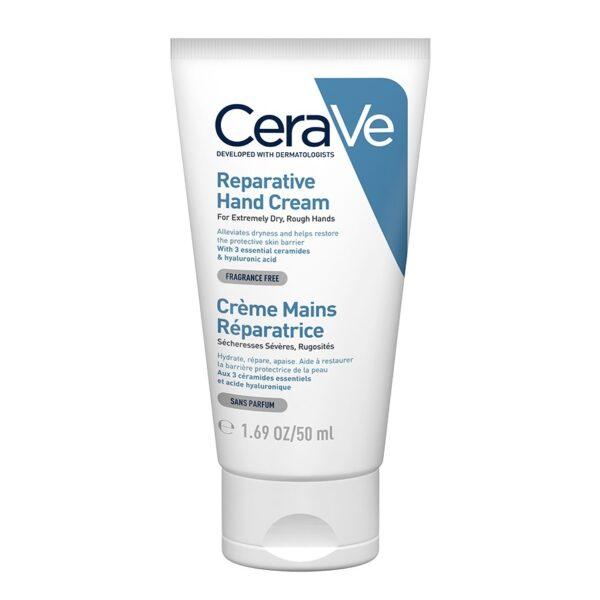 Crema reparatoare pentru maini, CeraVe SA, 50 ml