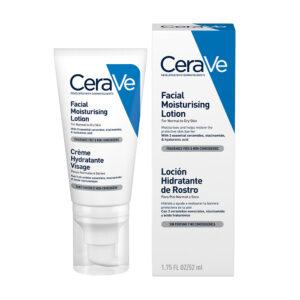 Crema hidratanta de fata pentru ten normal-uscat, CeraVe, 52 ml