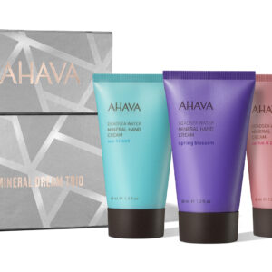 Set cadou creme de maini Mineral Dream Trio, Ahava, 3x40ml