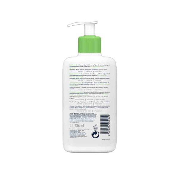 Gel de spalare hidratant pentru piele normal-uscata, CeraVe, 236 ml