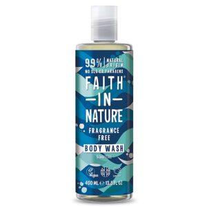 Gel de dus natural, fara parfum, hipoalergenic, pentru piele sensibila...