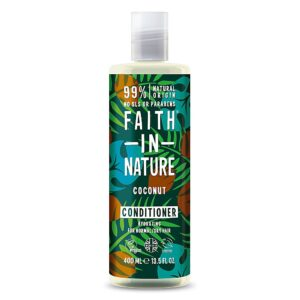 Balsam natural hidratant cu cocos, pentru par normal sau uscat, Faith ...