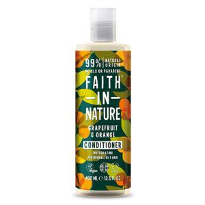 Balsam natural revigorant cu grapefruit si portocale, pentru par norma...