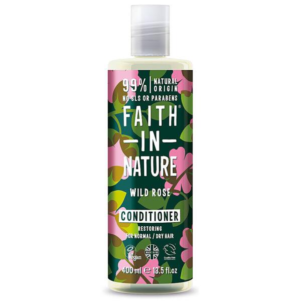Balsam natural hidratant cu cocos, pentru par normal sau uscat, Faith in Nature, 400 ml