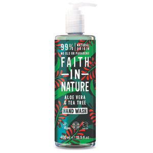 Sapun lichid natural cu Aloe Vera si ulei de tea tree, Faith in Nature...