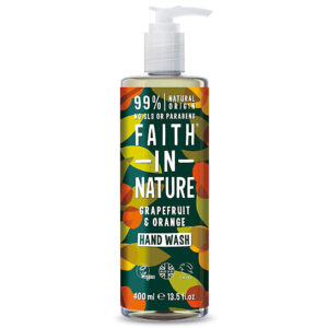 Sapun lichid natural cu grapefruit si portocala, Faith in Nature, 400 ...