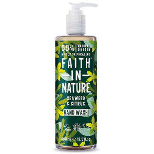 Sapun lichid natural cu alge marine si citrice, Faith in Nature, 400 m...