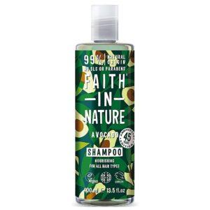 Sampon natural nutritiv cu Avocado, pentru toate tipurile de par, Fait...