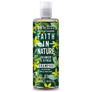 Sampon natural detoxifiant cu alge marine si citrice, pentru toate tip...