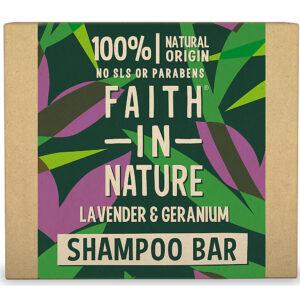 Sampon natural solid, cu lavanda si muscata, pentru toate tipurile de ...