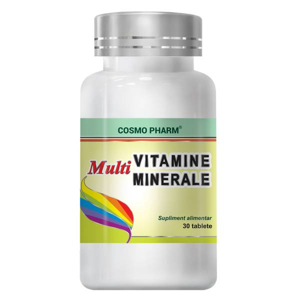 Multivitamine & Multiminerale, Cosmo Pharm, 30 tablete