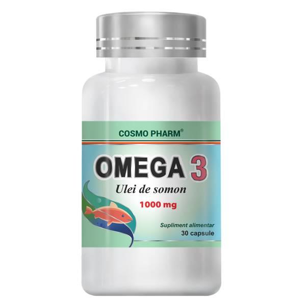 Omega 3 Ulei de somon, Cosmo Pharm, 30 capsule
