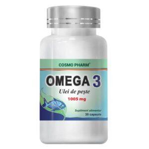Omega 3 Ulei de peste, Cosmo Pharm, 30 capsule