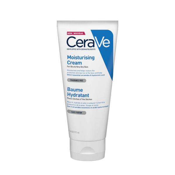 Crema hidratanta pentru fata si corp, piele uscata si foarte uscata, CeraVe, 177 ml
