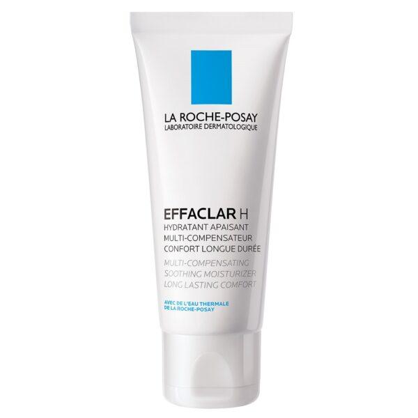 Crema hidratanta calmanta pentru tenul gras sensibilizat Effaclar, La Roche-Posay, 40ml