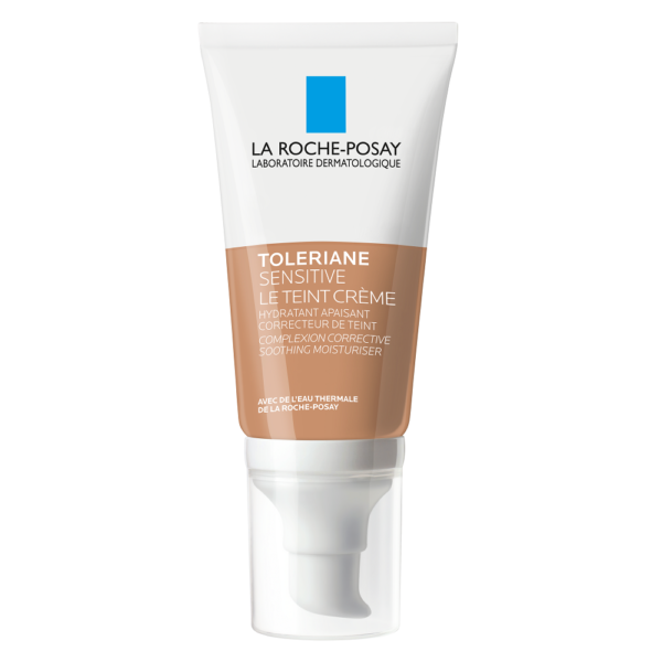 Crema hidratanta uniformizatoare Toleriane Sensitive, Nuanta Medium, La Roche-Posay, 50 ml