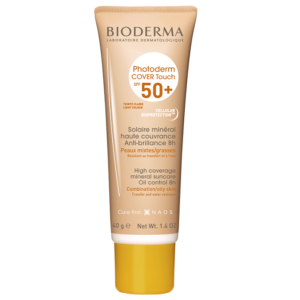 Fluid Photoderm Cover Touch SPF 50+ nuanta deschisa, Bioderma, 40 g