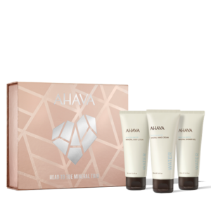 Set cadou Head To Toe Mineral Trio, Ahava, 3x100ml