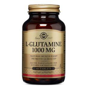 L-Glutamina 1000 mg, Solgar, 60 tablete