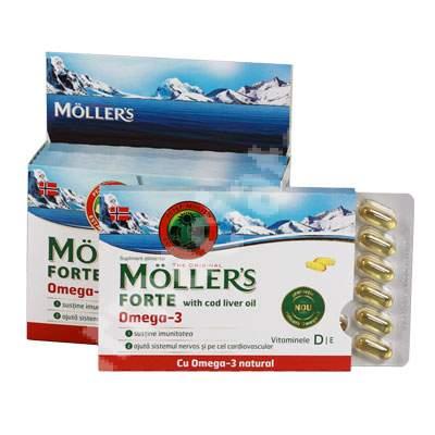 Omega 3 Forte, Moller's, 150 capsule