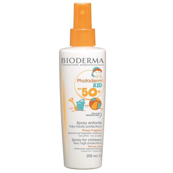 Spray protectie solara pentru copii Photoderm KID SPF 50+, Bioderma, 200 ml