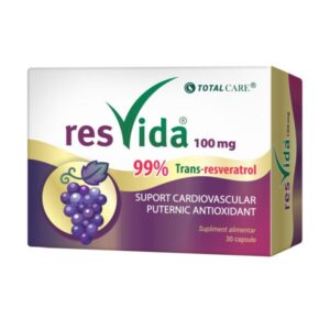 Resvida Resveratrol 100 mg, Cosmo Pharm, 30 capsule