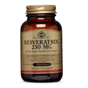 Resveratrol 250 mg, Solgar, 30 capsule