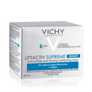 Crema de noapte antirid si fermitate Liftactiv Supreme, Vichy, 50 ml