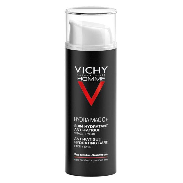 Crema hidratanta cu efect anti-oboseala pentru barbati, Hydra Mag C, Vichy, 50 ml