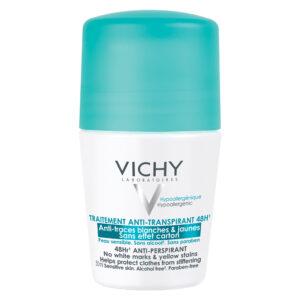 Deodorant roll-on antiperspirant anti-urme 48h, Vichy, 50 ml