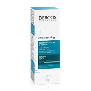 Sampon ultra calmant pentru par gras si normal Dercos Ultra Soothing, ...