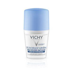 Deodorant roll-on mineral fara saruri de aluminiu 48h, Vichy, 50 ml