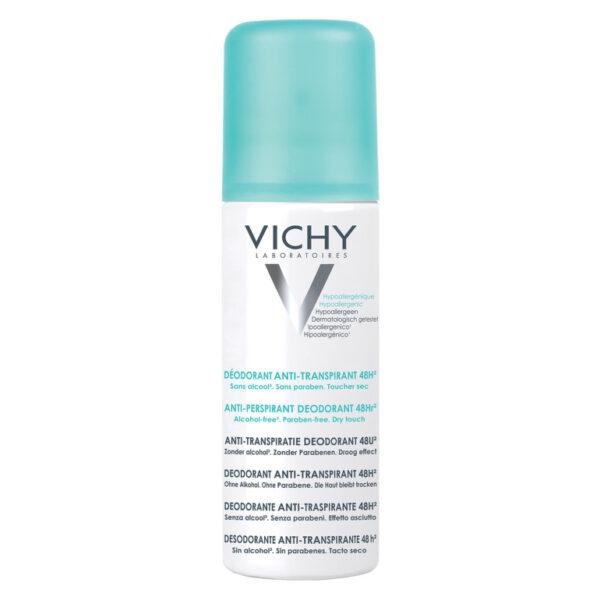 Deodorant spray antiperspirant fara alcool 48h, Vichy, 125 ml
