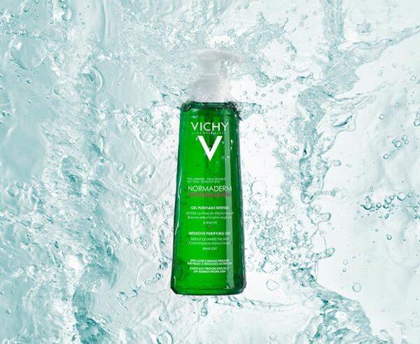Gel purificator pentru curatarea tenului Normaderm Phytosolution, Vichy, 200 ml