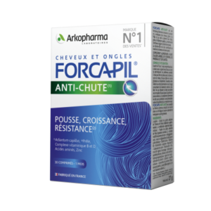 Forcapil hair activ – anti caderea parului, Arkopharma, 30 compr...