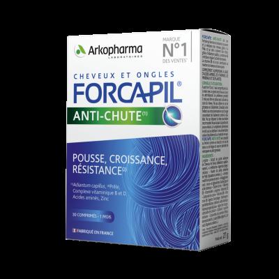 Forcapil hair activ - anti caderea parului, Arkopharma, 30 comprimate