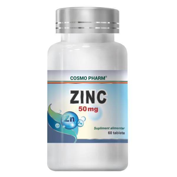 Zinc 50 mg, Cosmo Pharm, 60 Tablete