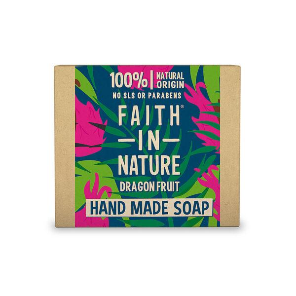 Sapun natural solid cu Fructul Dragonului, Faith in Nature, 100 gr
